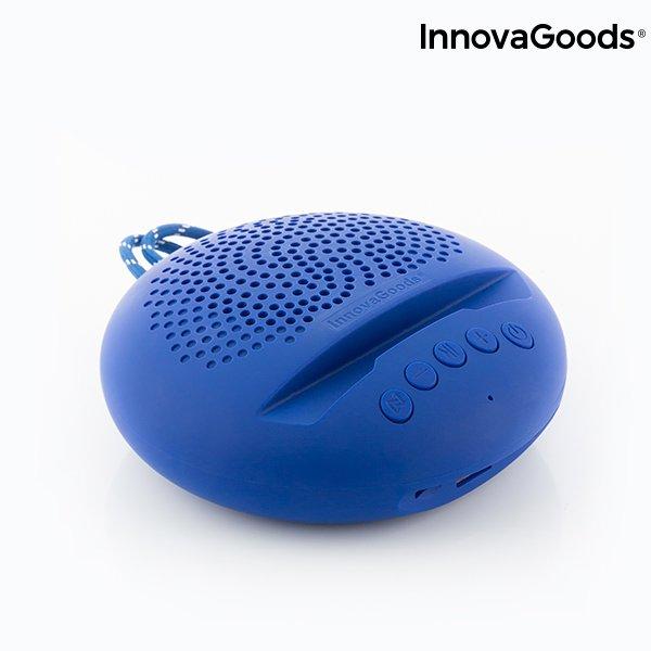 Innovagoods Sonodock – Trådløs Bluetooth Højtaler Med Fm Radio Og Aux – Blå