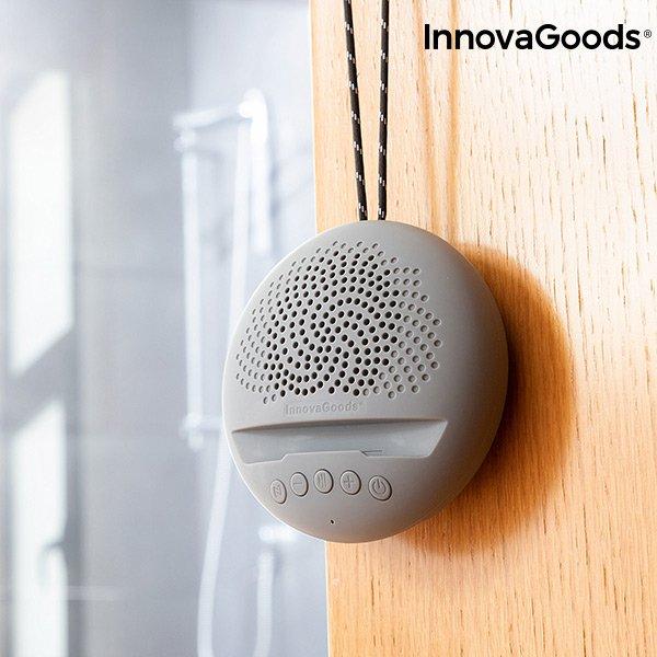 Innovagoods Sonodock – Trådløs Bluetooth Højtaler Med Fm Radio Og Aux – Grå