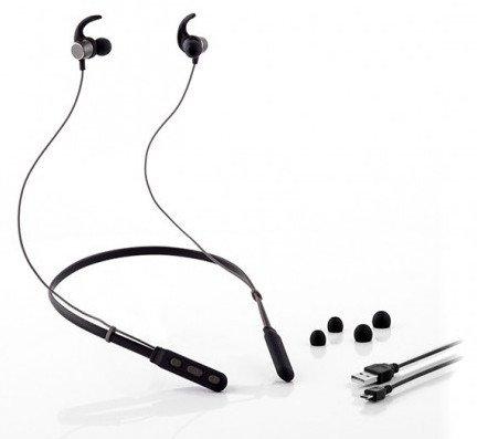 Billede af Innovagoods - Trådløse Magnetiske Sports Høretelefoner - 4 Timer - Sort