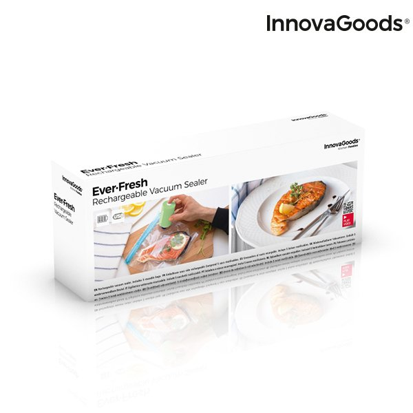 Image of   Innovagoods - Vakuumpakker - Ever-fresh - Genopladelig