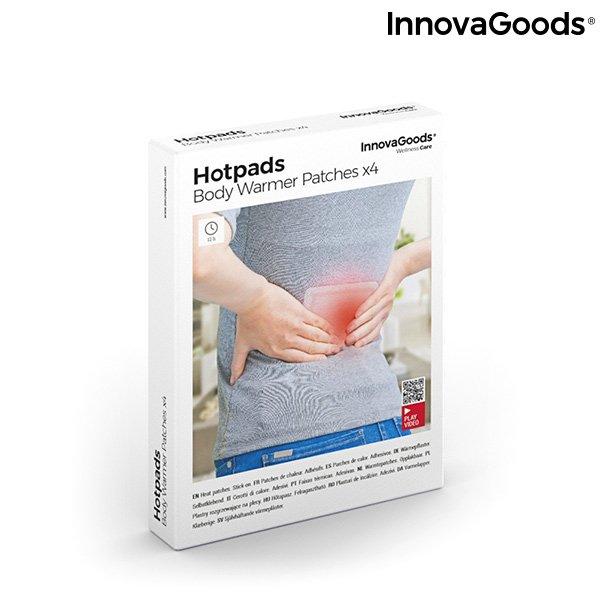 Billede af Innovagoods - Varmeplaster Til Kroppen - Hotpads - 4 Stk