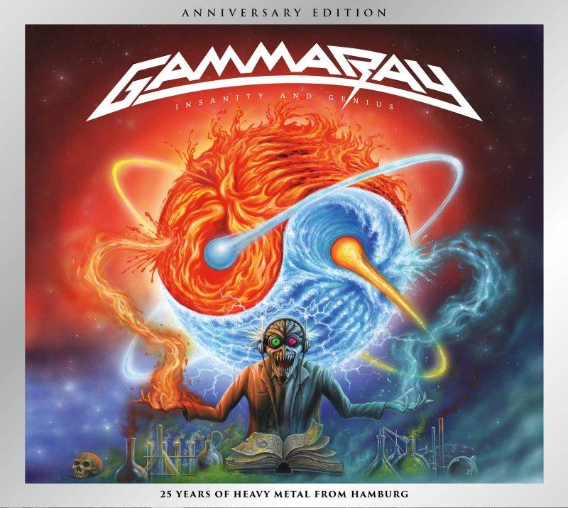 Image of   Gamma Ray - Insanity & Genius - CD