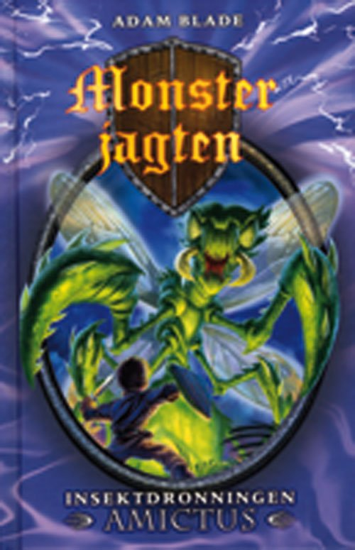 Monsterjagten 30 - Insektdronningen Amictus - Adam Blade - Bog