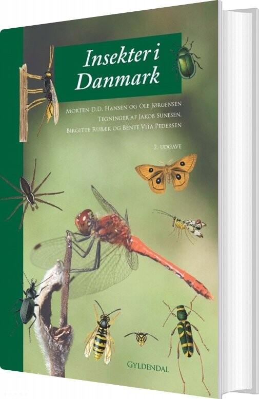 Image of   Insekter I Danmark - Ole Frank Jørgensen - Bog