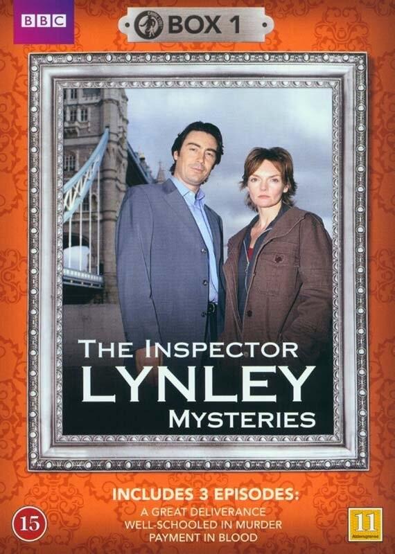 Image of   Inspector Lynley - Boks 1 - Bbc - DVD - Tv-serie