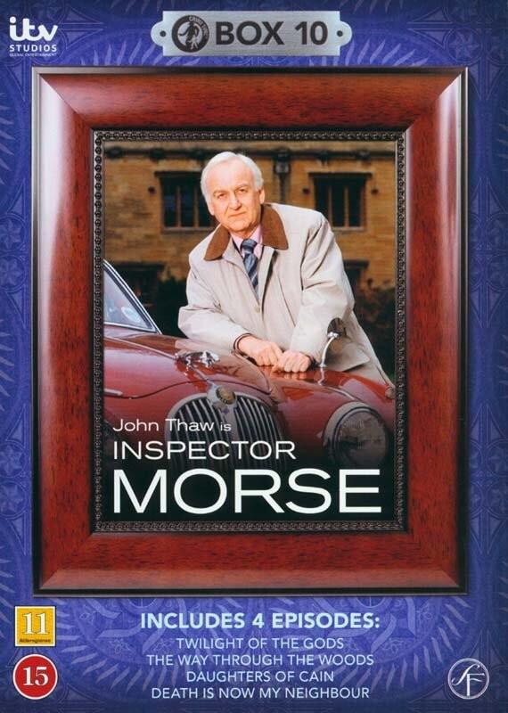 Image of   Inspector Morse - Boks 10 - DVD - Tv-serie
