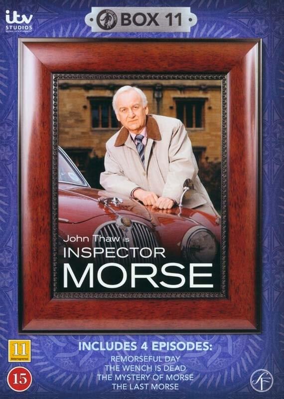 Image of   Inspector Morse - Boks 11 - DVD - Tv-serie