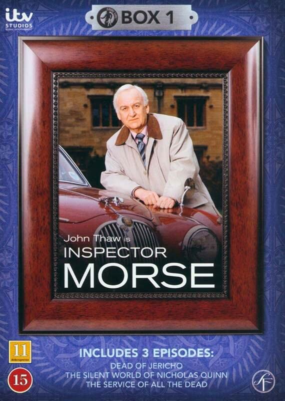 Image of   Inspector Morse - Boks 1 - DVD - Tv-serie