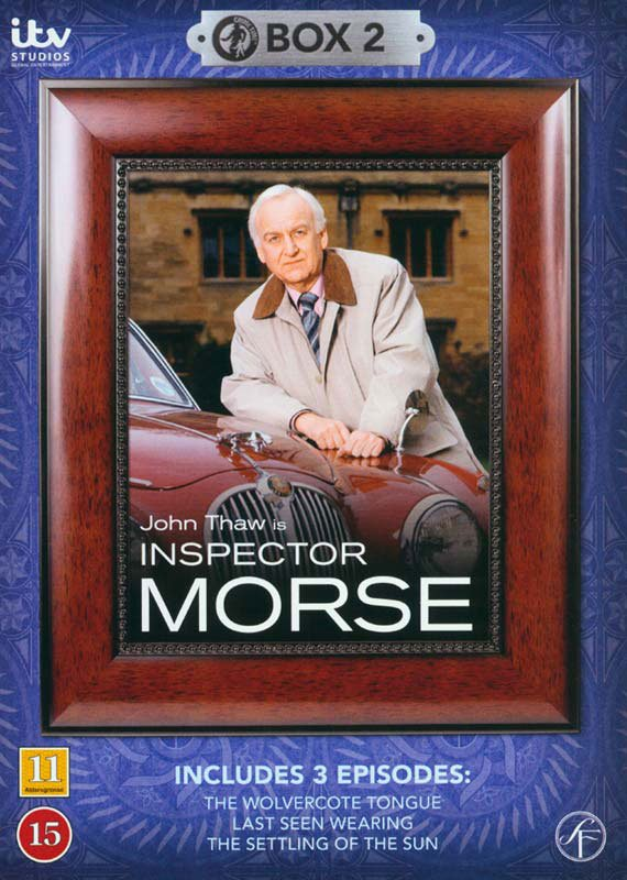 Image of   Inspector Morse - Boks 2 - DVD - Tv-serie