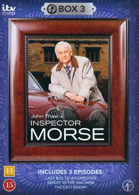 Image of   Inspector Morse - Boks 3 - DVD - Tv-serie