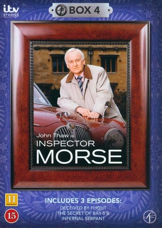 Image of   Inspector Morse - Boks 4 - DVD - Tv-serie