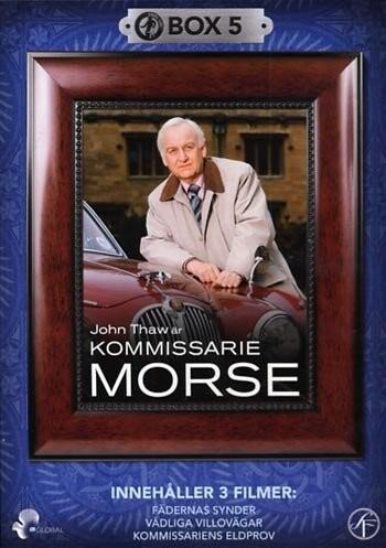 Image of   Inspector Morse - Boks 5 - DVD - Tv-serie