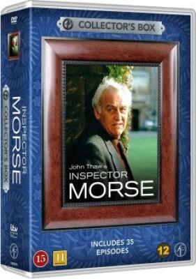 Image of   Inspector Morse Box - 35 Episoder - DVD - Tv-serie