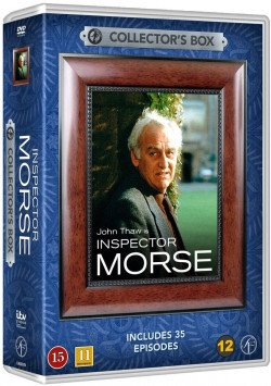 Image of   Inspector Morse Box - 35 Episoder - DVD - Tv-serie