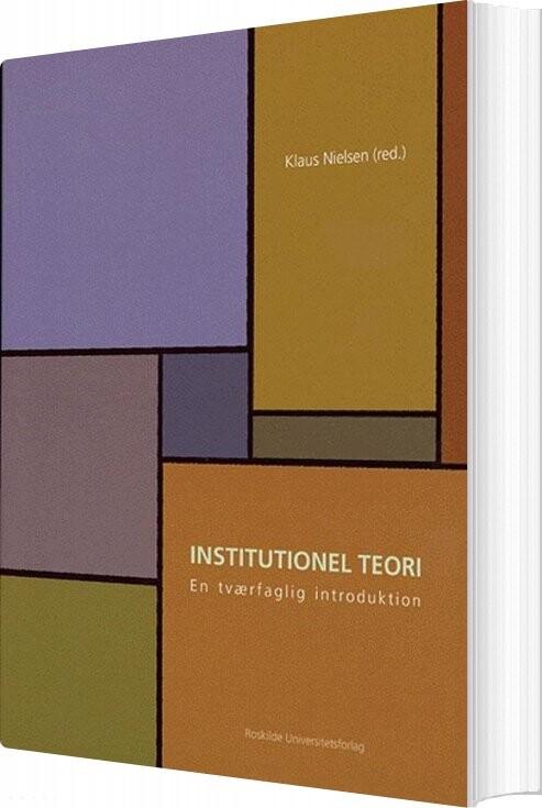 Institutionel Teori - Klaus Nielsen - Bog