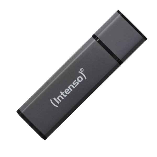 Image of   Intenso Alu Line - Usb 3.0 Stik - 32gb - 70 Mb/s - Grå