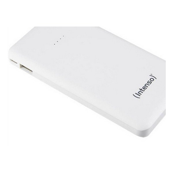 Image of   Intenso - Powerbank Med 10000 Mah - Indbygget Usb-c Kabel - Sort