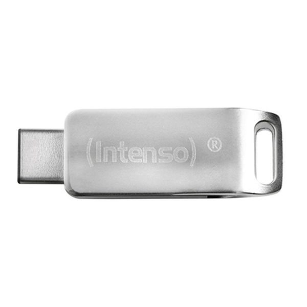 Image of   Intenso - Usb 3.0 Stik - 16gb - Usb-c Stik Til Mobil Og Tablet - Grå