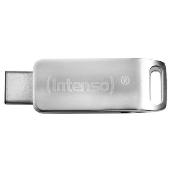 Image of   Intenso - Usb 3.0 Stik - 32gb - Usb-c Stik Til Mobil Og Tablet - Grå