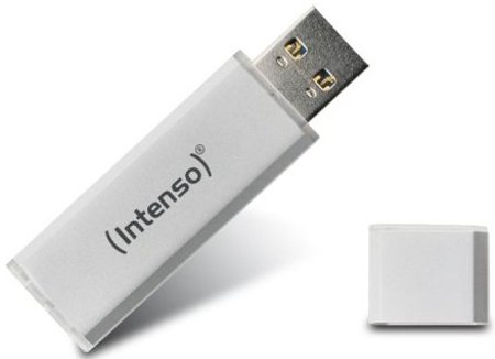 Image of   Intenso - Usb 3.0 Stik - 64gb - 70mb/s - Hvid