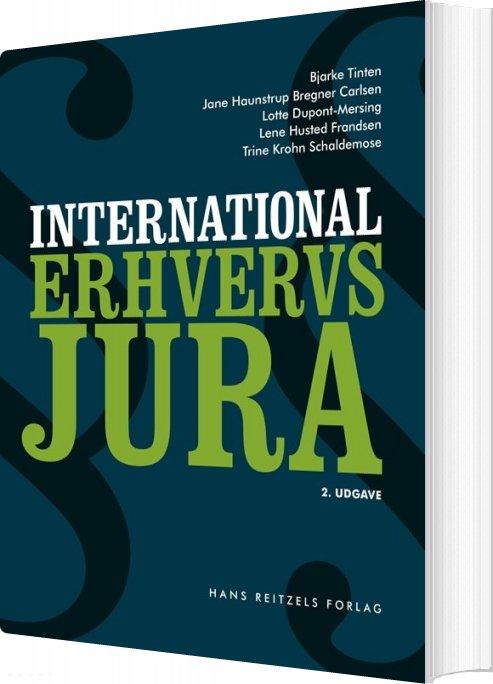 International Erhvervsjura - Bjarke Tinten - Bog