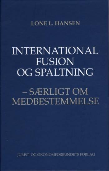 Image of   International Fusion Og Spaltning - Hansen L - Bog