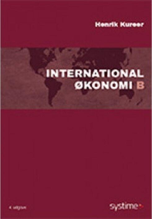 69c8cf7d International økonomi B er en lettilgængelig bog, der grundigt dækker alt,  hvad du skal vide om dansk og global økonomi i et klart og tydeligt sprog.
