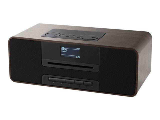 Dab+ Radio Med Cd Afspiller Og Bluetooth - Irc Ikr1360 - Træ → Køb billigt her