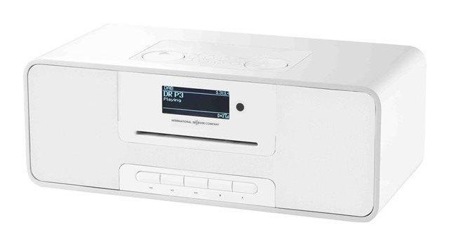 Dab+ Radio Med Cd Afspiller Og Bluetooth - Irc Ikr1360 - Hvid