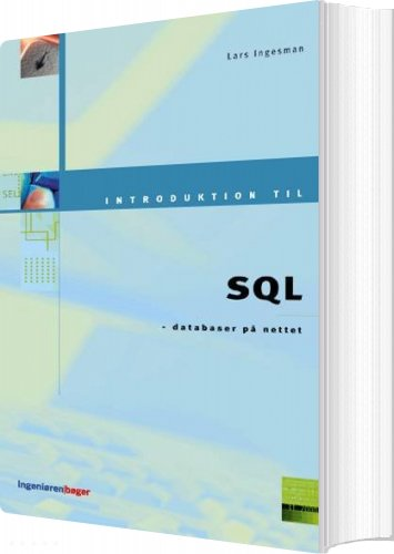 Image of   Introduktion Til Sql - Lars Ingesman - Bog