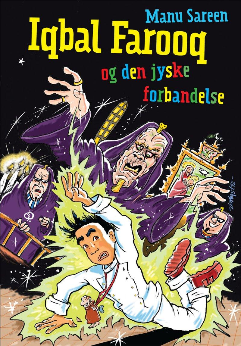 Image of   Iqbal Farooq Og Den Jyske Forbandelse - Mp3 - Manu Sareen - Cd Lydbog