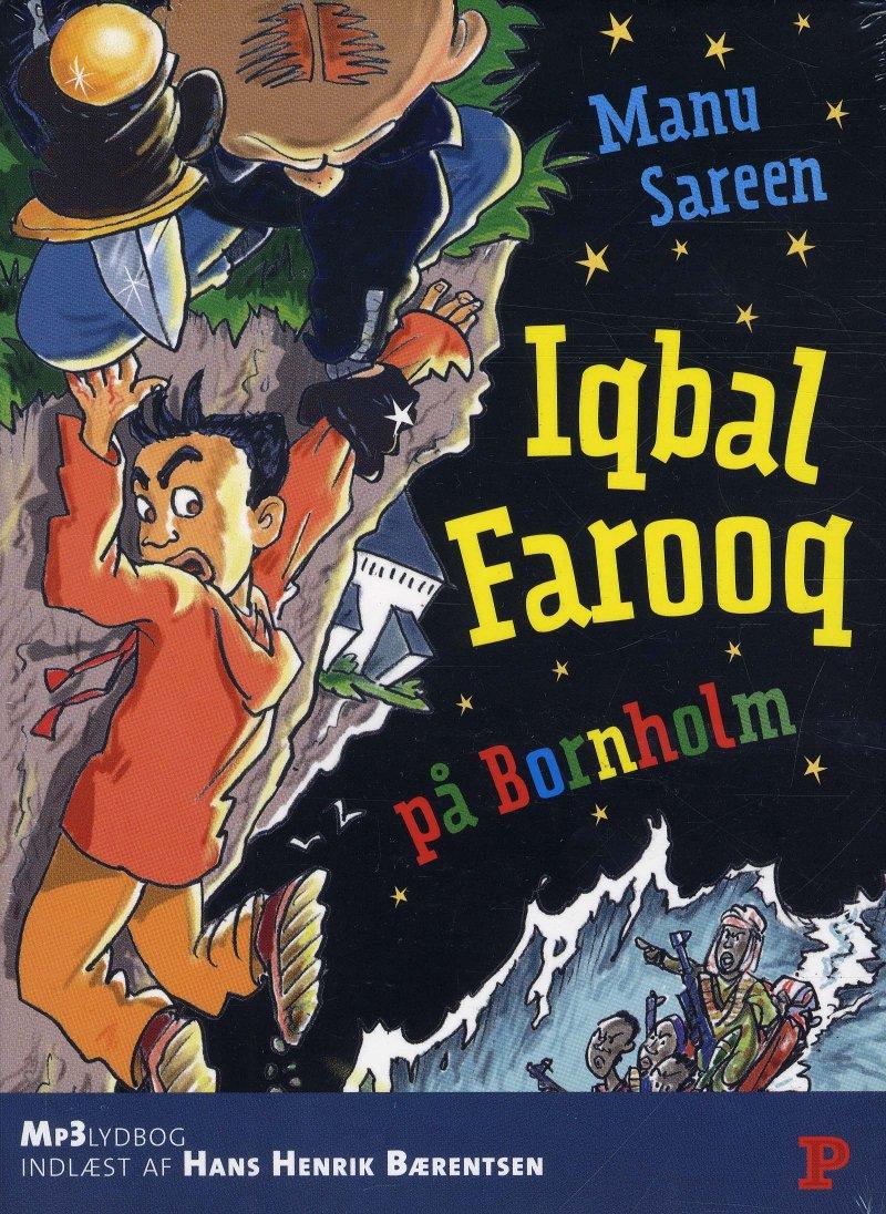 Image of   Iqbal Farooq På Bornholm - Manu Sareen - Cd Lydbog