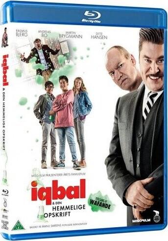 Image of   Iqbal Og Den Hemmelige Opskrift - Blu-Ray