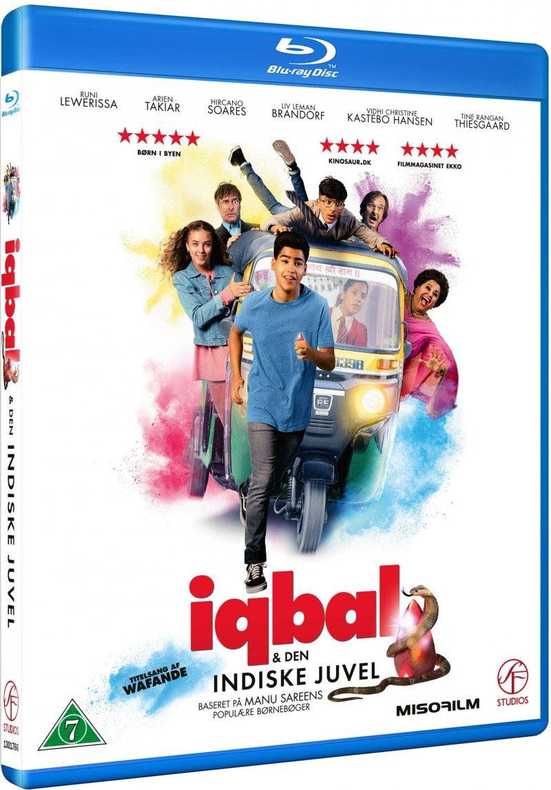 Image of   Iqbal Og Den Indiske Juvel - Blu-Ray