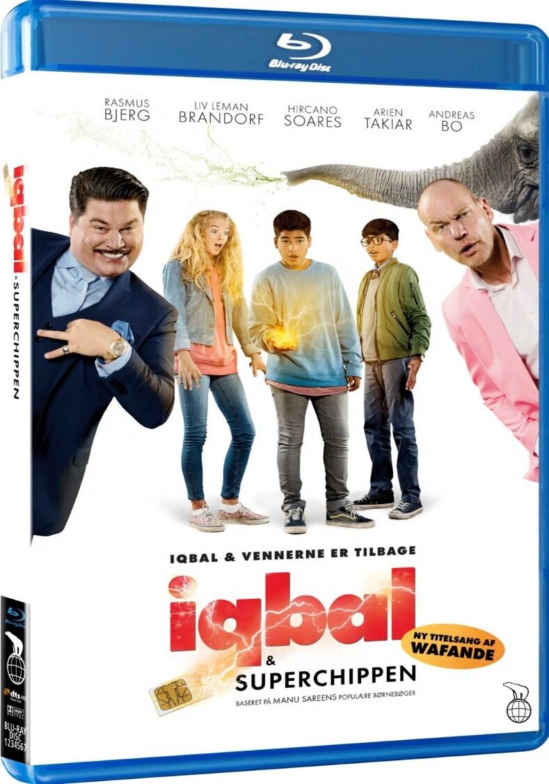 Image of   Iqbal Og Superchippen - Blu-Ray