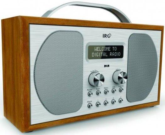 Irc Dab+ / Fm-radio - Epping - Træ