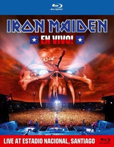 Image of   Iron Maiden - En Vivo ! - Blu-Ray