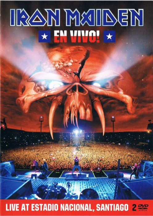 Image of   Iron Maiden - En Vivo ! - DVD - Film