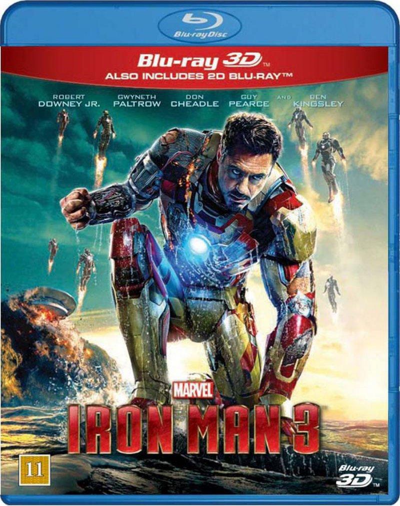 Image of   Iron Man 3 - 3D Blu-Ray