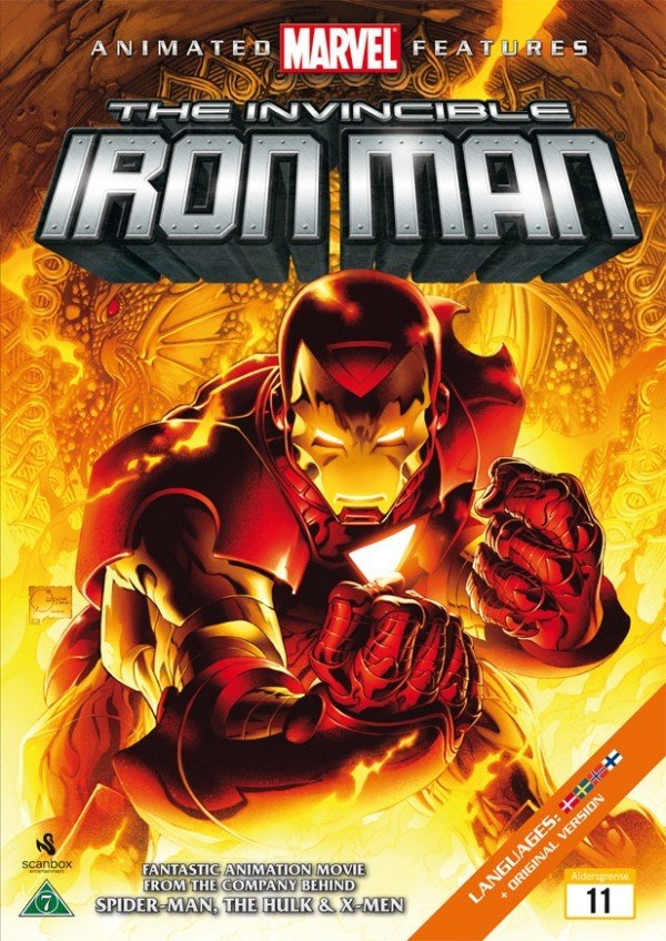 Billede af Iron Man : The Invincible Iron Man - DVD - Film