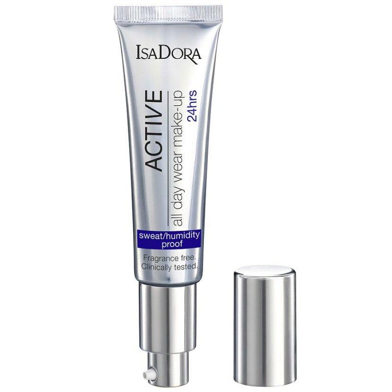 Image of   Isadora Foundation - All Day Wear 24hr Make-up - 12 Light Honey
