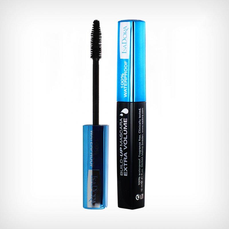 Mascara - Isadora Build-up Mascara Extra Volume - Vandfast - Black/brown
