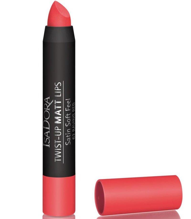 Image of   Læbestift - Isadora Twist-up Matt Lips - Raving Red