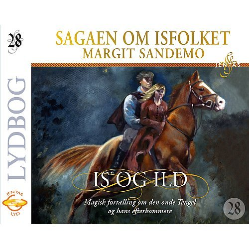 Isfolket 28 - Is Og Ild - Margit Sandemo - Cd Lydbog
