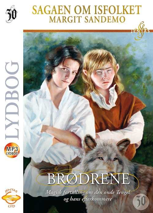 Image of   Isfolket 30 - Brødrene, Mp3 - Margit Sandemo - Cd Lydbog