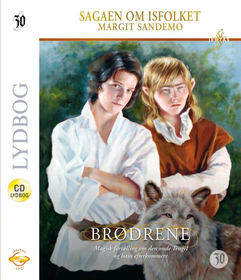 Image of   Isfolket 30 - Brødrene - Margit Sandemo - Cd Lydbog
