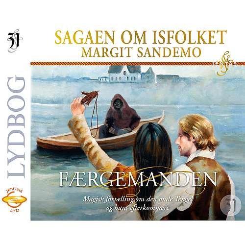 Image of   Isfolket 31 - Færgemanden - Margit Sandemo - Cd Lydbog
