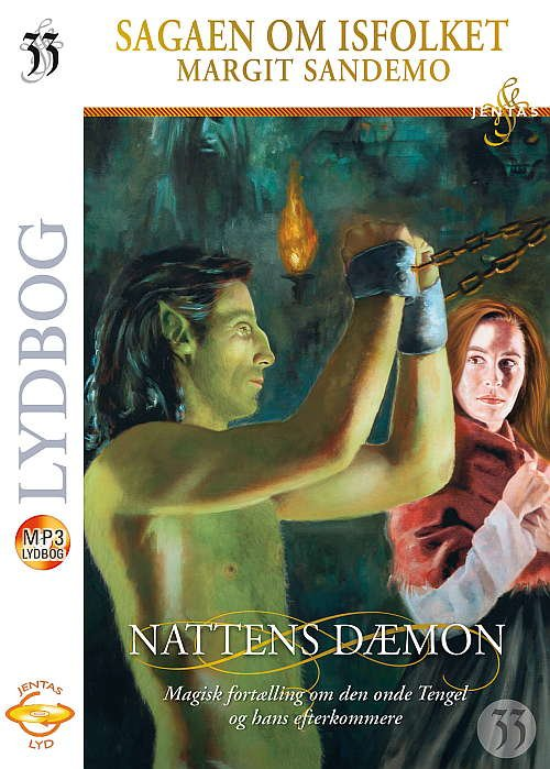 Image of   Isfolket 33 - Nattens Dæmon, Mp3 - Margit Sandemo - Cd Lydbog