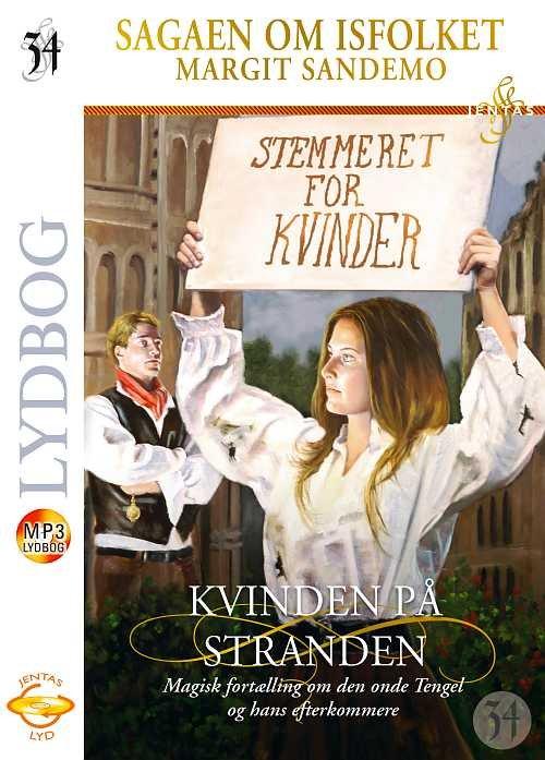 Image of   Isfolket 34 - Kvinden På Stranden, Mp3 - Margit Sandemo - Cd Lydbog