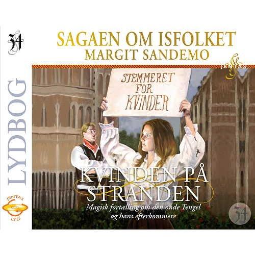Image of   Isfolket 34 - Kvinden På Stranden - Margit Sandemo - Cd Lydbog